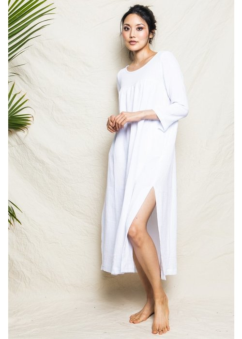 Petite Plume White Gauze Provence NIght Dress