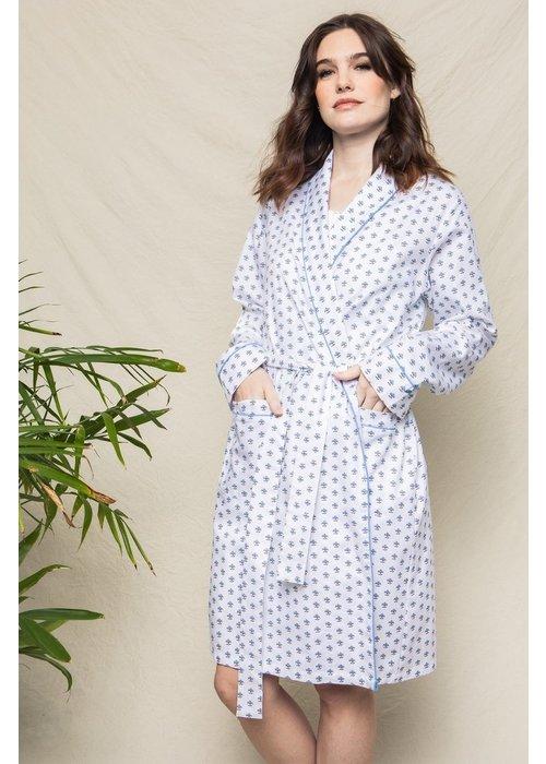 Petite Plume Women's Fleurette Robe in White