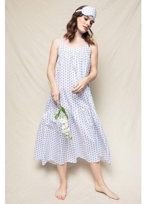 Petite Plume Women's Fleurette Chloe Nightgown in White
