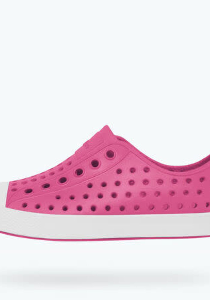 Native Jefferson YOUTH Hollywood Pink/Shell White