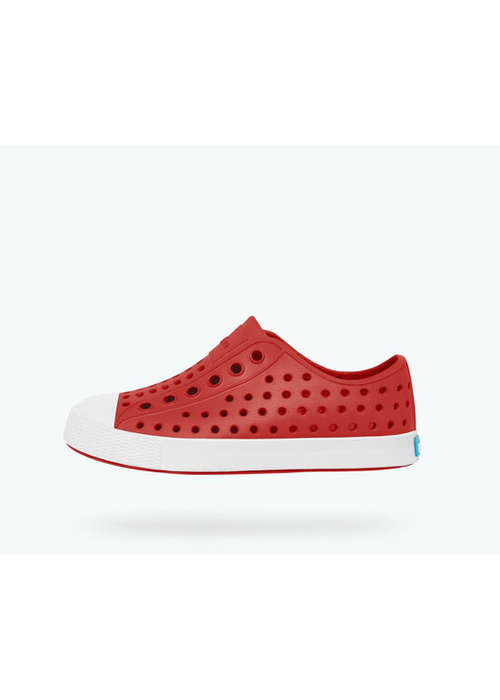 Native Jefferson YOUTH in Torch Red/Shell White C13