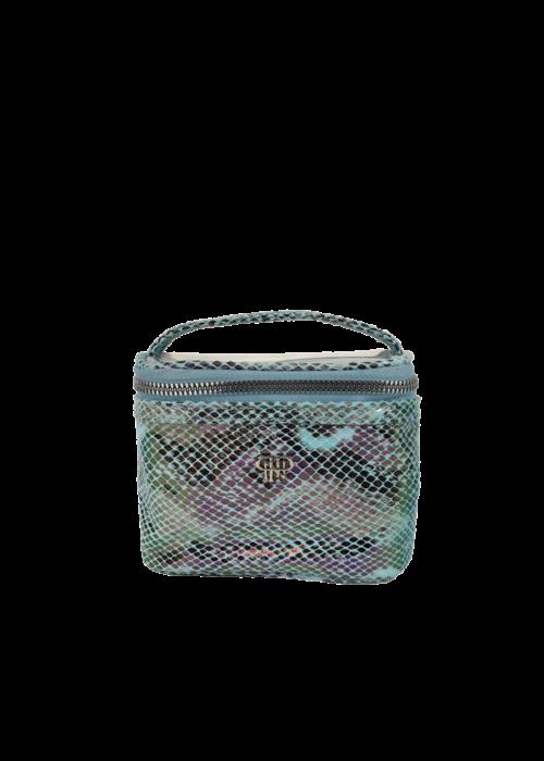 purse n PurseN Getaway Jewelry Case Turquoise Python
