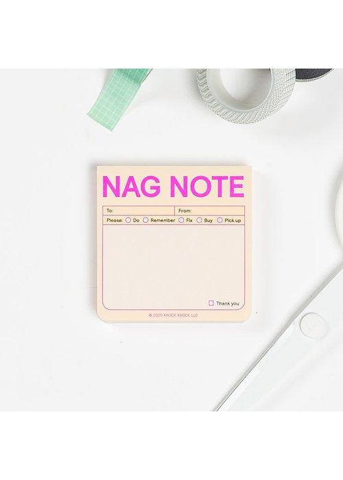 Knock Knock Sticky Note Refresh - Nag Note