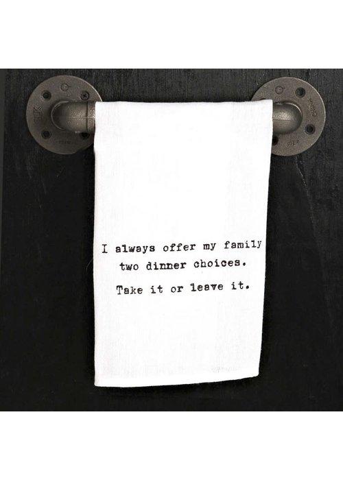 SHBN Towel - Take It or Leave It