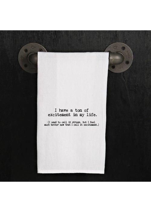 SHBN Tea Towel - Ton of Excitement...