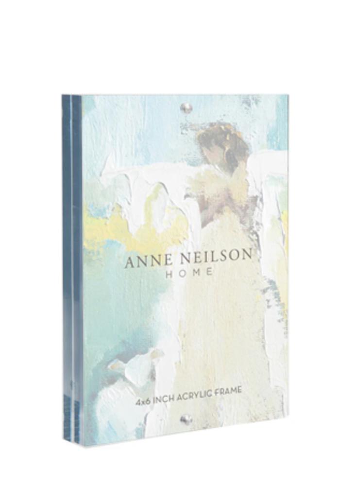 Anne Neilson 4 x 6 acrylic frame