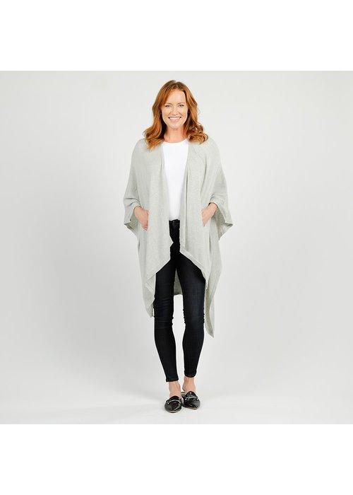 Zestt Organics Zestt Lightweight Travel Wrap Light Gray One Size