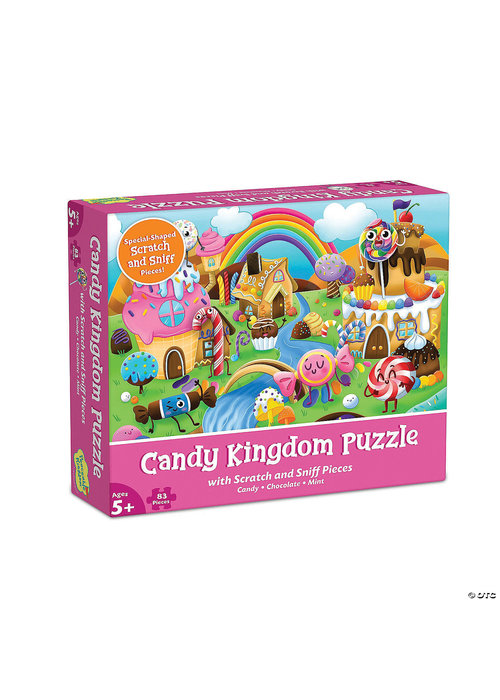 Scratch and Sniff Puzzle: Candy Kingdom