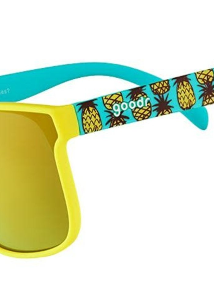 Goodr Tropical Opticals - How Do You Like Them Pineapples