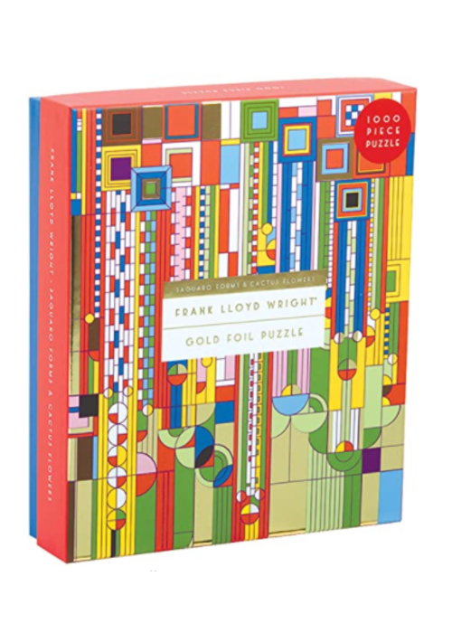 Hach Frank Lloyd Wright Foil Puzzle 1000 pc