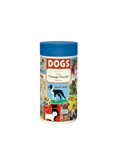 CP Vintage Dogs 1000 Piece Puzzle