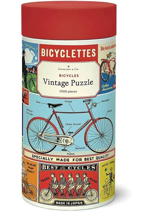 CP Bicycles 1000 Piece Puzzle