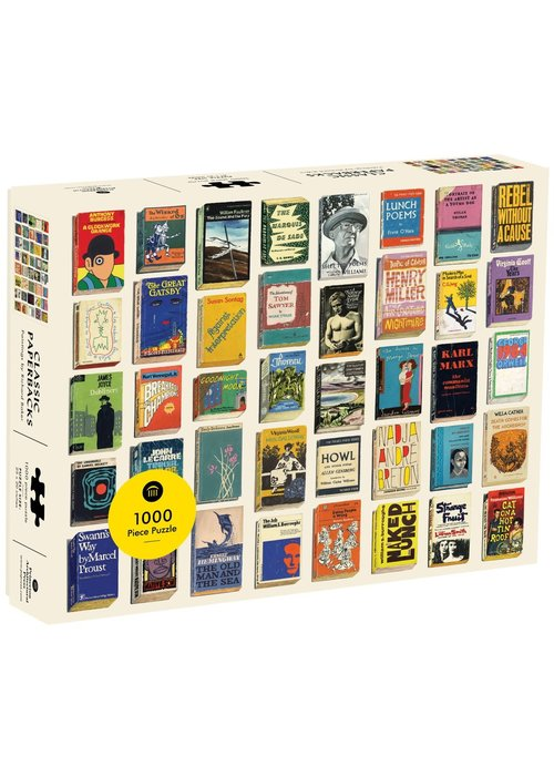 Hach Classic Paperbacks Puzzle 1000p