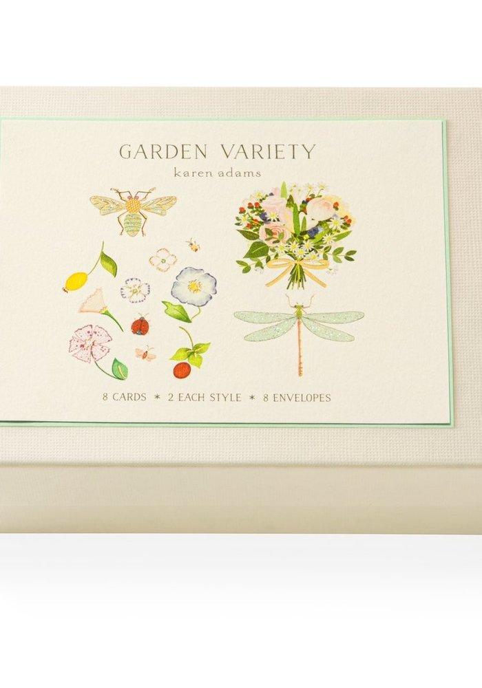 KA Gift Box Note Cards - Garden Variety