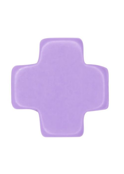 E Newton EG Signature Cross necklace Purple