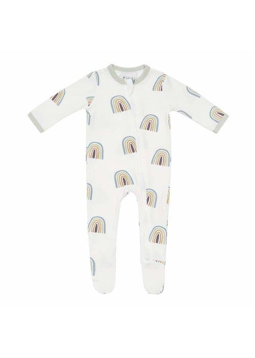 Kyte Baby Kyte Printed Zipper Footie