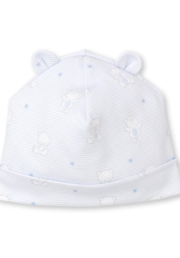 Bear Hugs Hat Light Blue