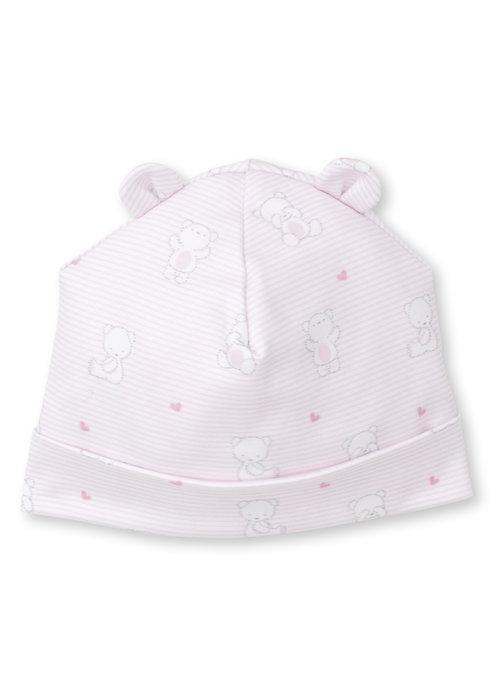 Kissy Kissy Bear Hugs Hat Pink
