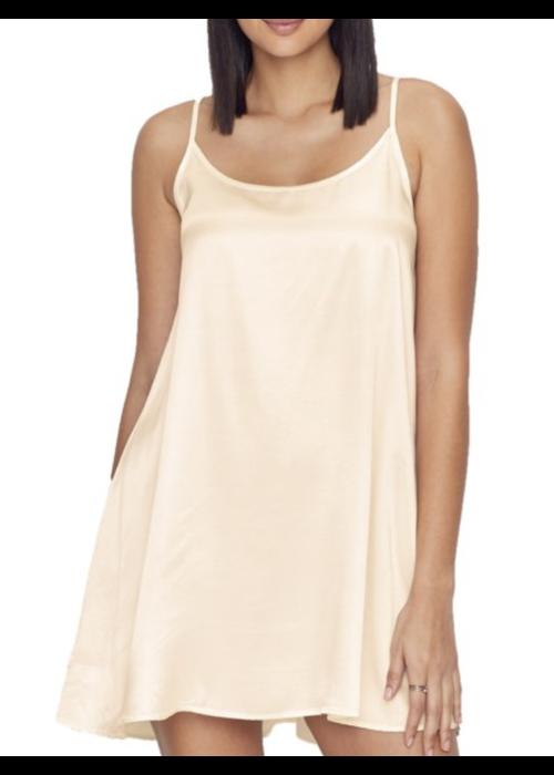 PJ Harlow PJ Harlow Allie Satin Nightgown -Pearl