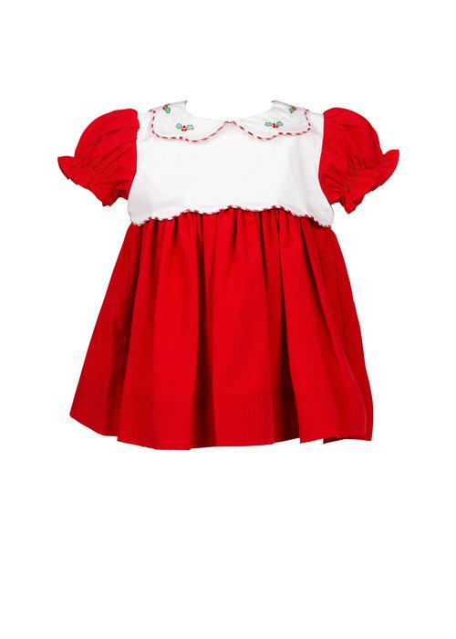 The Proper Peony Proper Peony Tinsel Red Dress