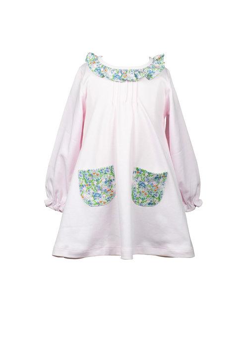 The Proper Peony Proper Peony Fall Floral LS A-line Dress