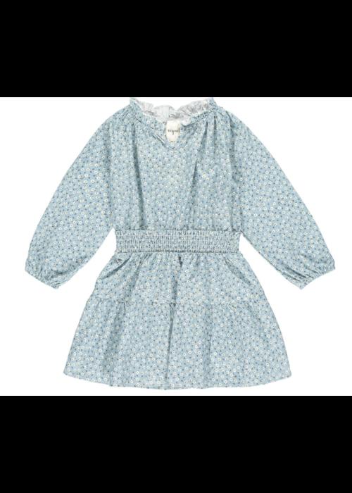Vignette Vignette Willow Dress in Blue Floral