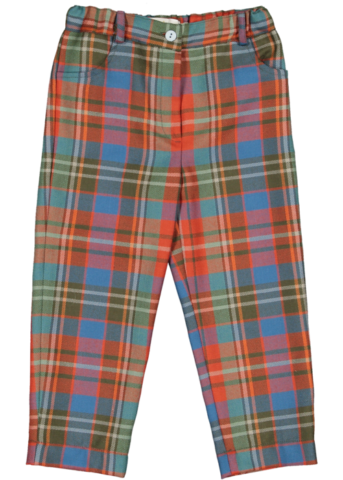 Sal & Pimenta Scottish Tartan Trousers