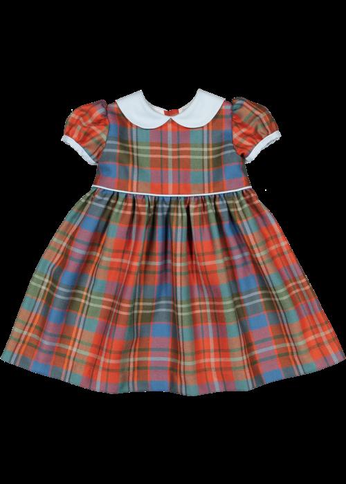 Sal & Pimenta Scottish Tartan Dress