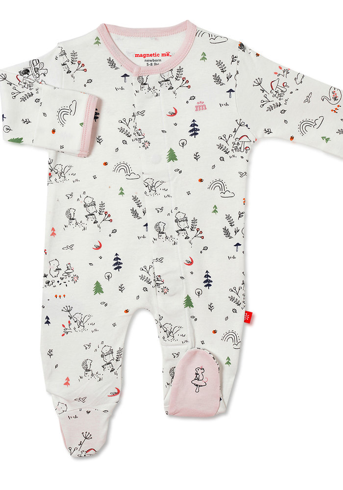 Magnetic Me A Friend in Me Organic Cotton Magnetic Footie