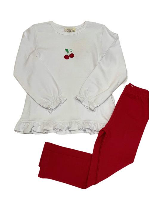 Baby Luigi Crochet Cherry Swing Top