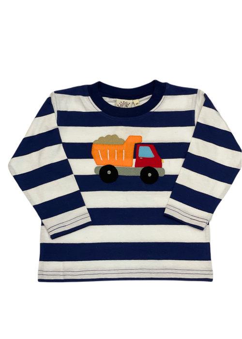 Baby Luigi Boys Long Sleeve Dump Truck Tee