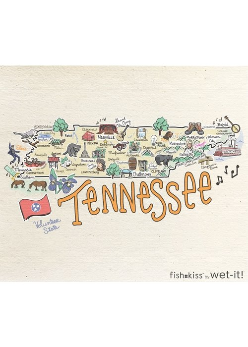 Wet-it! Cleaning Cloth-Tennessee