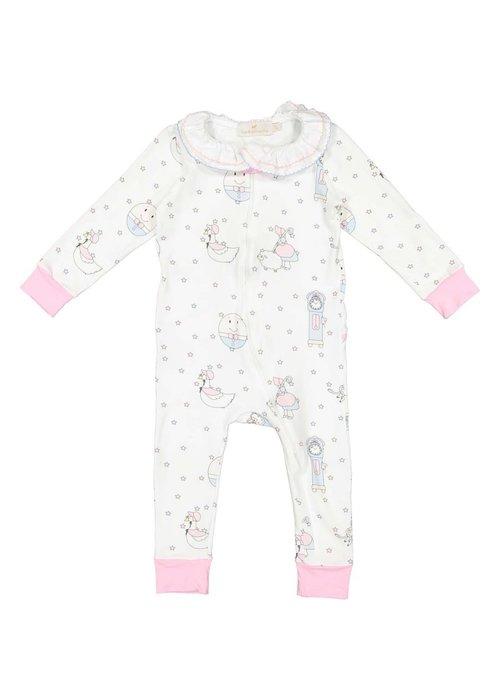 Sal & Pimenta Nursery Rhyme Pink Pajama
