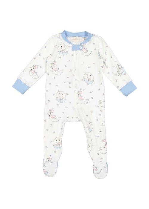 Sal & Pimenta Nursery Rhyme Blue Pajama