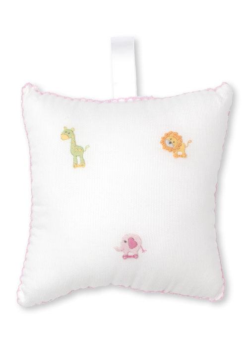 Kissy Kissy Kissy Kissy Musical Pillow HE w/Tulle Bag SCE Jungle Fun Pink