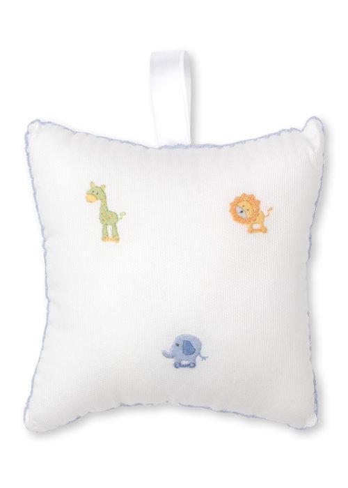 Kissy Kissy KK Musical Pillow HE w/Tulle Bag SCE Jungle Joy Lt Blue
