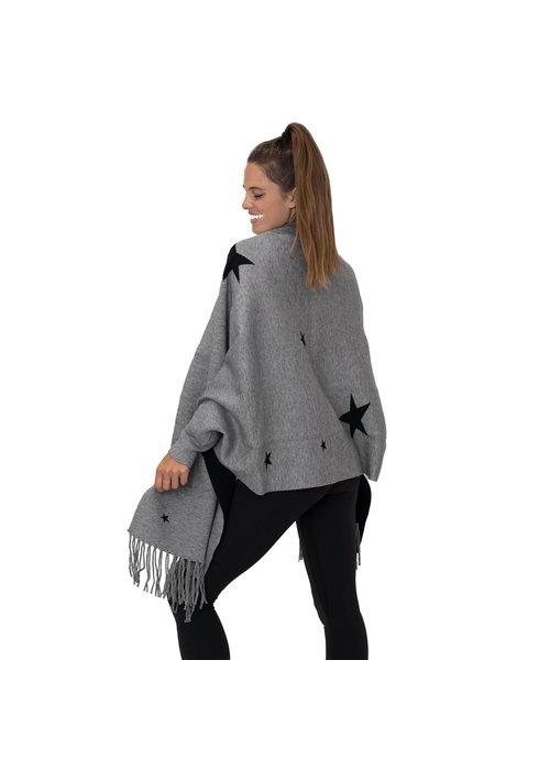 TD Sleeved Wrap Star - Gray