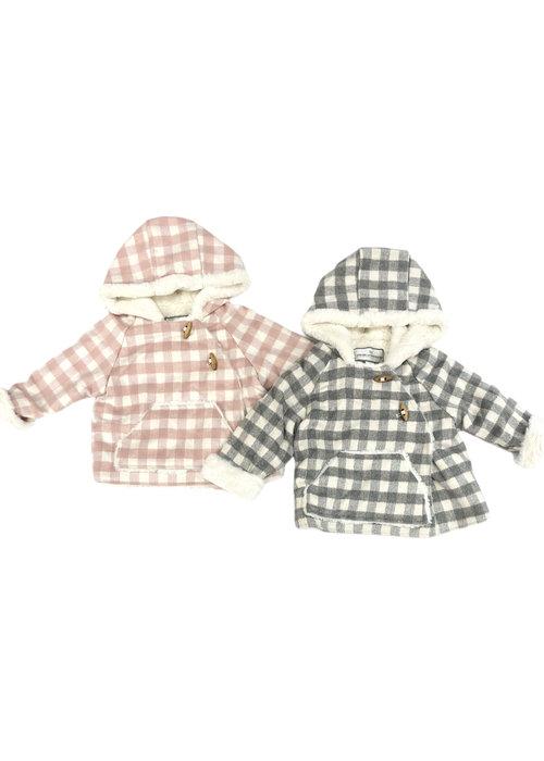 Widgeon Widgeon Wrap Check Jacket