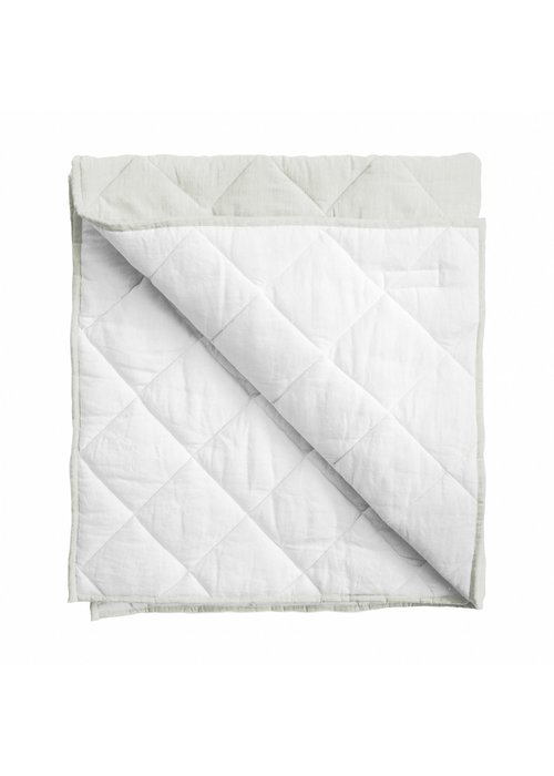 Louelle Baby Quilt/ Play Mat - French Gray