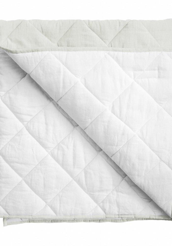Baby Quilt/ Play Mat - French Gray