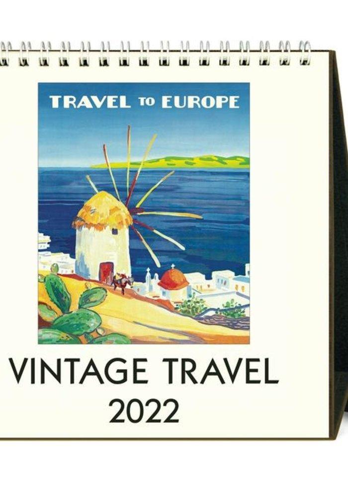 CP Desk Calendar Vintage Travel