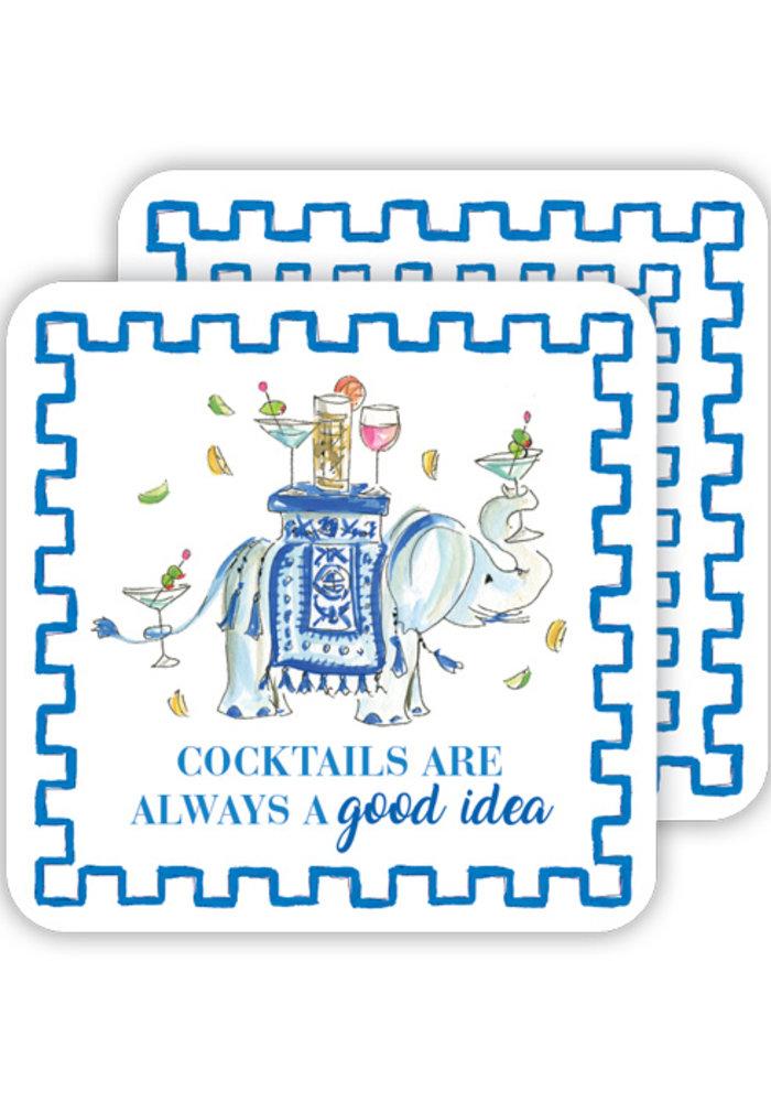 Cocktails Are Always a Good Idea Coaster Set