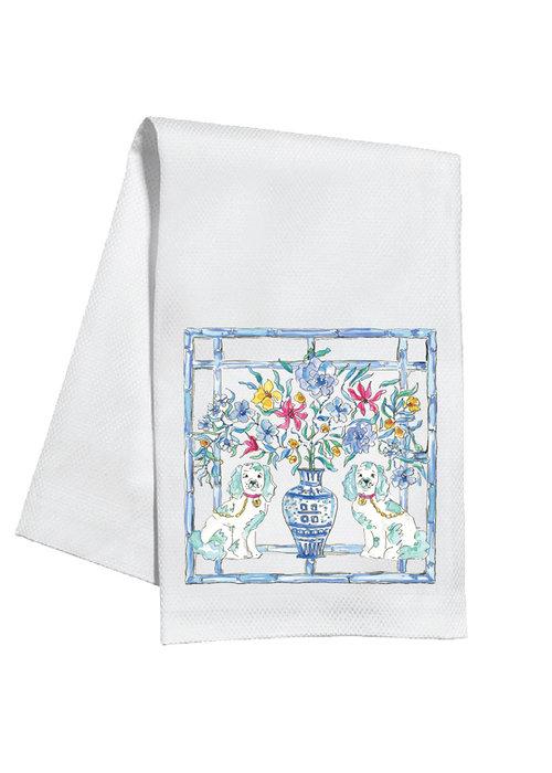 Staffordshire Dogs Tea Towel