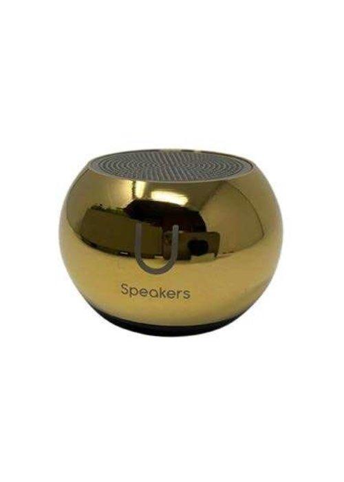 Mini Mirror Speaker- Gold