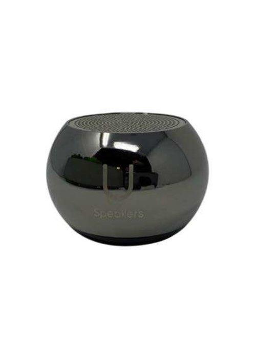 Mini Mirror Speaker- Hematite