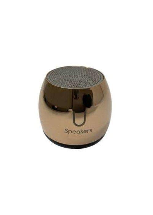 Micro Mirror Speaker- Rose Gold