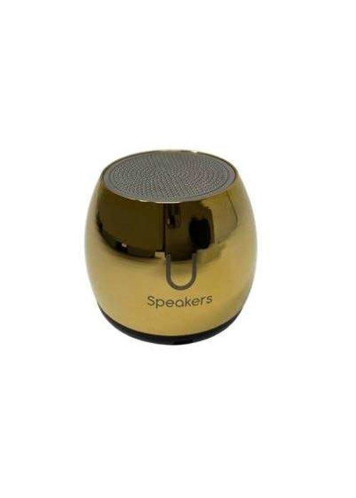 Micro Mirror Speaker- Gold
