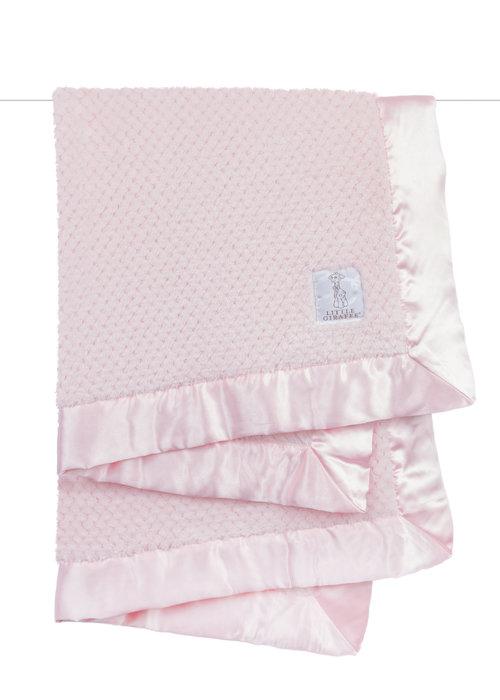 Little Giraffe Little Giraffe Honeycomb Blanket Pink