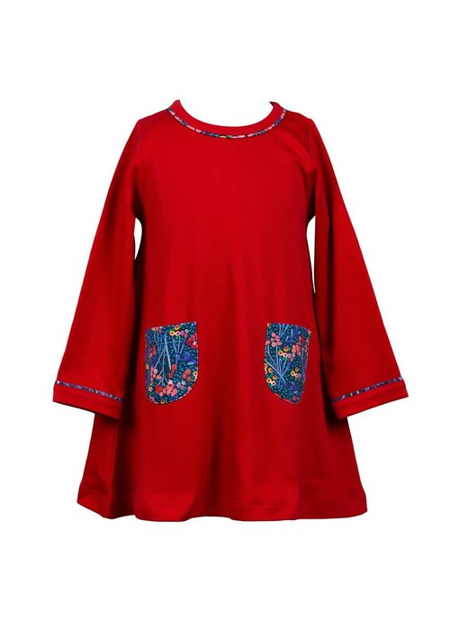 The Proper Peony Proper Peony Winterberry A-Line Dress