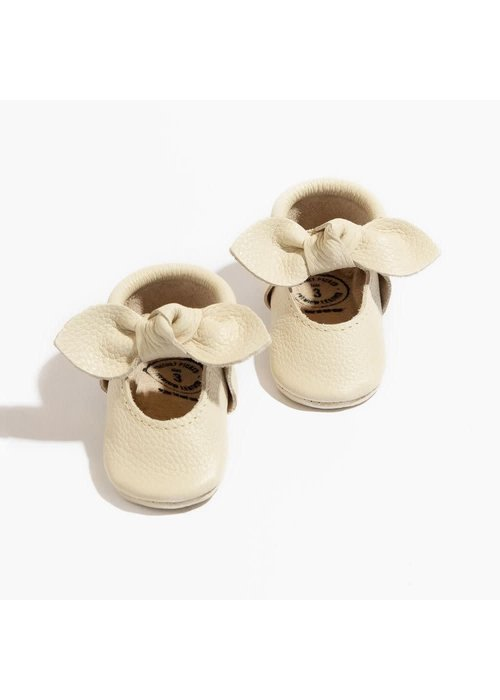 Freshly Picked FP Birch Knotted Bow Moc Newborn